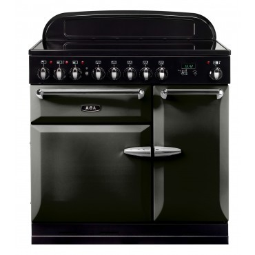 AGA Masterchef XL 90 Inductie Pewter