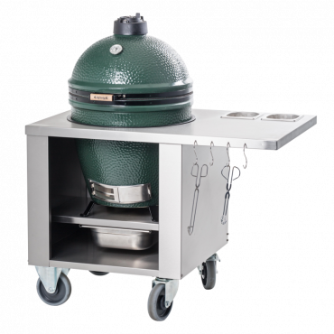Big Green Egg RVS werktafel