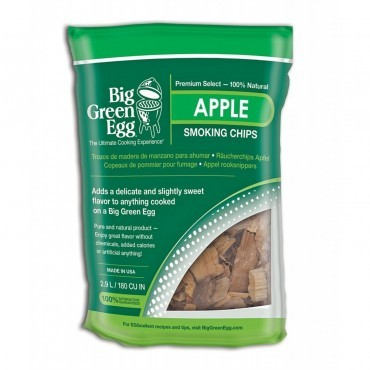Big Green Egg Rooksnippers Apple