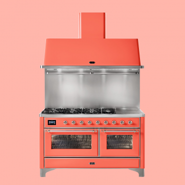 ILVE Majestic 150 Living Coral - 2 ovens (ILVE fornuizen)