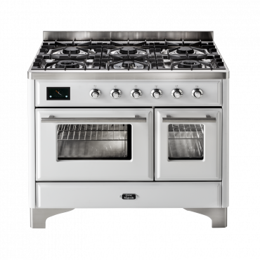 ILVE Majestic Techno 100 - 2 oven - wit