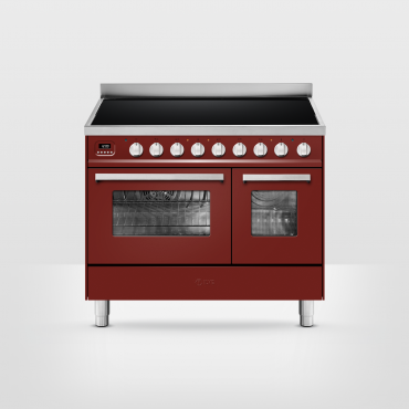 ILVE Pro Line 90 inductie Rood - 2 ovens